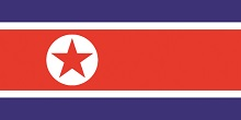 North Korean flag