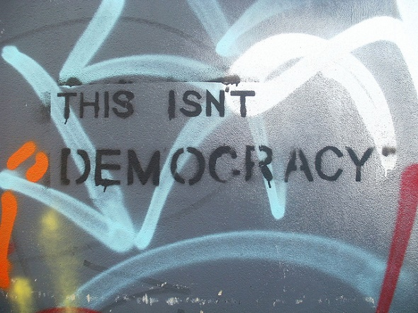 this isn't democracy