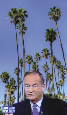 Alex Habermehl; futureatlas.com (Bill O'Reilly); Eccentric Scholar (palm trees) both under a CC Licence.