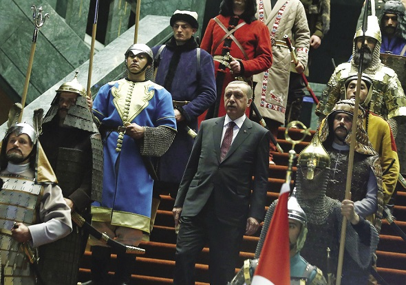 President Erdogan: stand up to Turkey's arrests