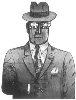 Illustration by Saul Steinberg