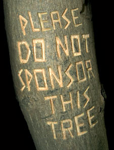 Please do not sponsor this tree