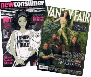 'Lifestyle' magazines revel in the feelgood factor.