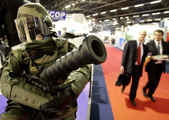Milipol exhibition, Paris