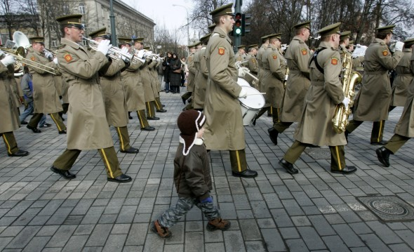 Lithuania military parade