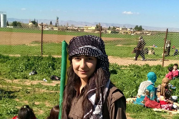 Rojava young woman