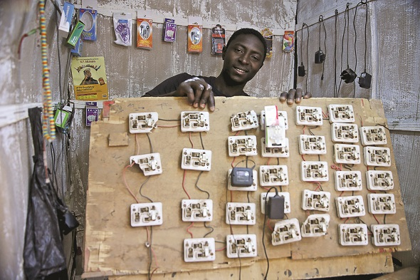 Kenyan selling sockets