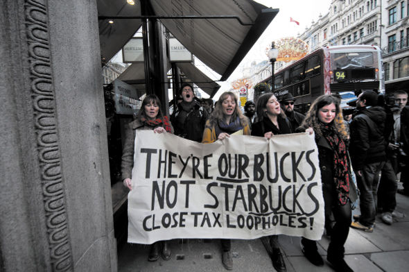Tax cheating: Campaigners help force consumer-sensitive Starbucks to pay $9.7 million in UK taxes – which corporate avoiders are next in the crosshairs?  Jenny Matthews/Alamy Stock Photo
