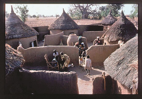 traditional Burkina Faso housing