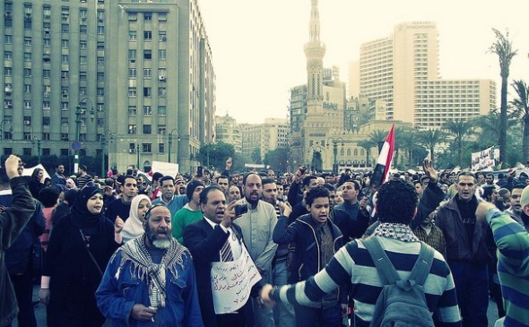 Tahrir Square protests [Related Image]
