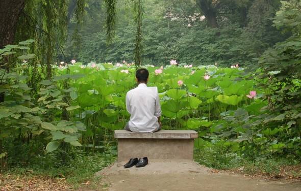 Man meditating  [Related Image]
