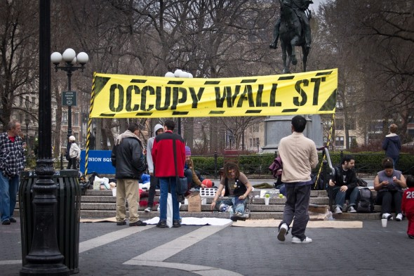 Occupy Wall Street protesters [Related Image]