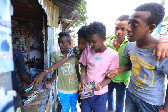 Ethiopia's young men