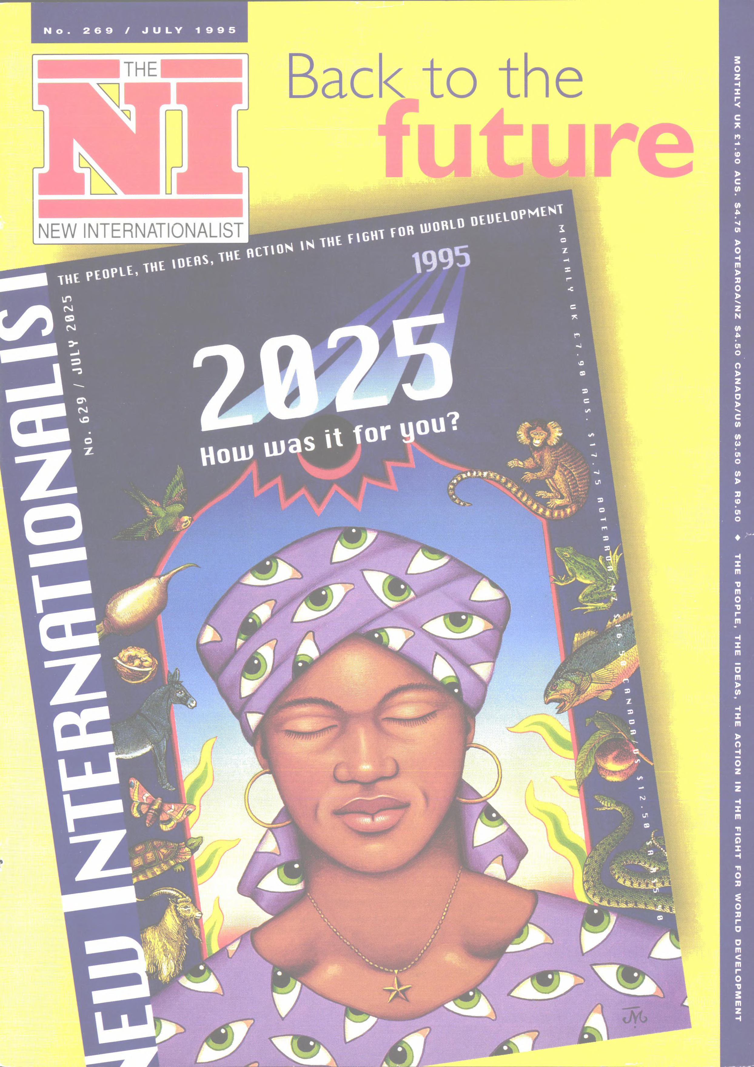 New Internationalist issue 269 magazine cover
