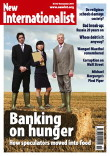 Cover of the Banking on hunger (Issue 447) of New Internationalist