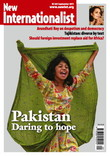 Front cover of New Internationalist magazine, issue 445