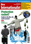 Front cover of New Internationalist magazine, issue 453