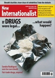 Cover of the Drugs (Issue 455) of New Internationalist