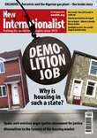 Front cover of New Internationalist magazine, issue 461