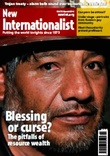 Front cover of New Internationalist magazine, issue 470