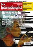 Cover of New Internationalist magazine - Democracy in the digital era