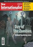 Cover of the Day of the Zombies - global banking now of New Internationalist