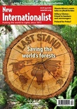 Cover of New Internationalist magazine - Forests