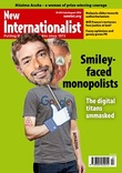 Cover of the Smiley-faced monopolists of New Internationalist