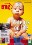 Cover for Patents on life (Issue 349)
