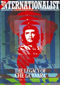 Front cover New Internationalist Che Guevara issue
