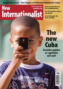 New Internationalist issue 476 magazine cover