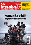 Cover of New Internationalist magazine - Migration issue