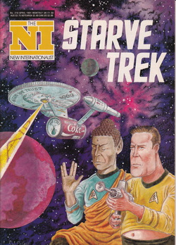 Star Trek parody cover