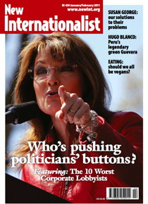 New Internationalist issue 439 magazine cover