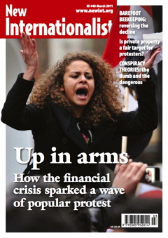 New Internationalist issue 440 magazine cover