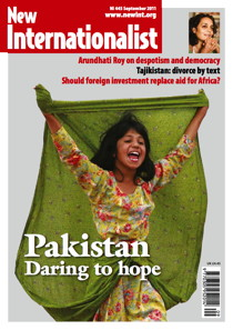 New Internationalist issue 445 magazine cover