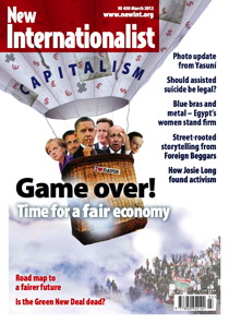 New Internationalist issue 450 magazine cover