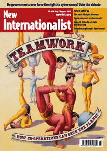 New Internationalist issue 454 magazine cover