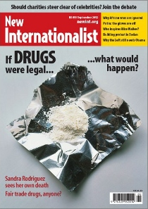 New Internationalist issue 455 magazine cover