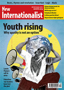 New Internationalist issue 456 magazine cover