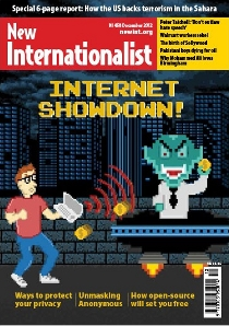 New Internationalist issue 458 magazine cover