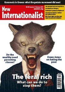 New Internationalist issue 459 magazine cover