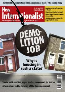 New Internationalist issue 461 magazine cover