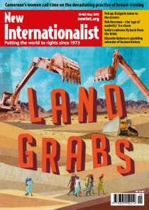 New Internationalist issue 462 magazine cover