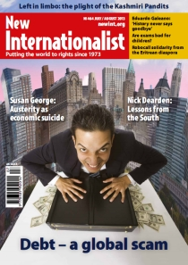 New Internationalist issue 464 magazine cover