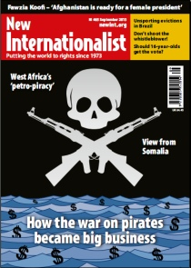 New Internationalist issue 465 magazine cover