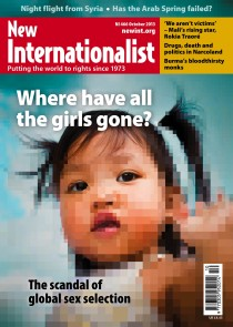 New Internationalist issue 466 magazine cover
