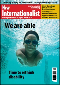 New Internationalist issue 467 magazine cover