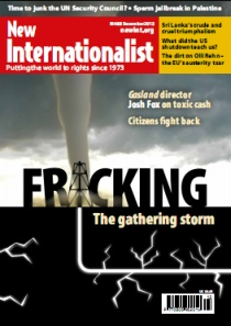New Internationalist issue 468 magazine cover