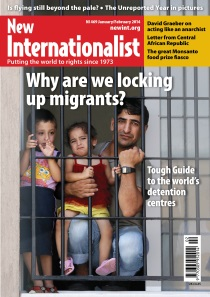 New Internationalist issue 469 magazine cover